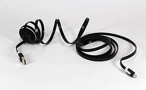 Шнур USB-MICRO USB 3m flat V8, фото 2