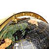 Глобус на подставке золотистой из полудрагоценных камней CLS220, фото 2