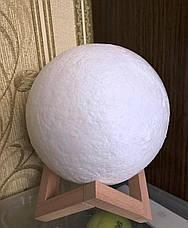 Лампа луна 3D Moon Lamp Настольный светильник луна Moon Light, фото 3