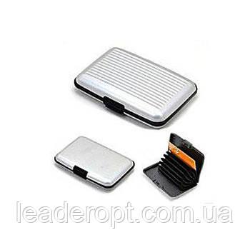 ОПТ Універсальний металевий гаманець Aluma Wallet для чоловіків і жінок