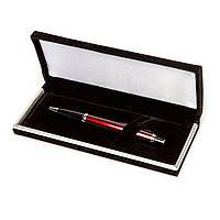 Набор подарочный сувенирный ручка Ш-929-В-2 (красная) шариковая в бархотном футляре