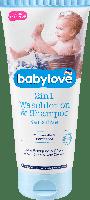 Детский гель для душа + шампунь Babylove 2in1 Waschlotion & Shampoo Sensitive, 200 ml, фото 1