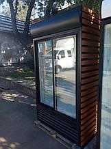 Холодильный шкаф Кlimasan 900 л . б у, холодильный шкаф витрина б/у, шкаф холодильный б у