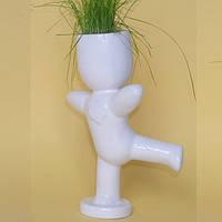 """Экочеловек """"Танцор"""" - оригинальный подарок на день Святого Валентина парню или девушке, керамика, экосувенир"""