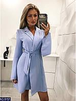 Стильное платье-пиджак до середины бедра, размеры XS, S, M