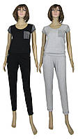Снова в продаже модные женские летние костюмы с люрексом - серия Lora Lux Lampas ТМ УКРТРИКОТАЖ!