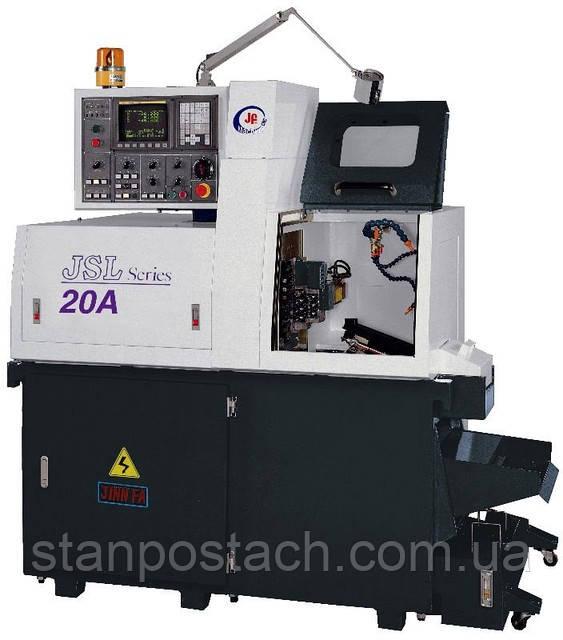 Токарный прутковый автомат Jinn Fa JSL-20 A