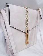 Женский клатч 5357 Beige женские сумки через плечо, женские клатчи купить недорого