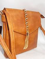 Женский клатч 5357 Brown женские сумки через плечо, женские клатчи купить недорого