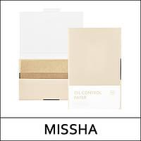 Матирующие салфетки для лица Missha Oil control Film 50 шт