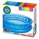 """Дитячий надувний басейн Intex,188х46см """"Літаюча тарілка"""",конус. Басейн для дітей, для малюків 58431, фото 5"""