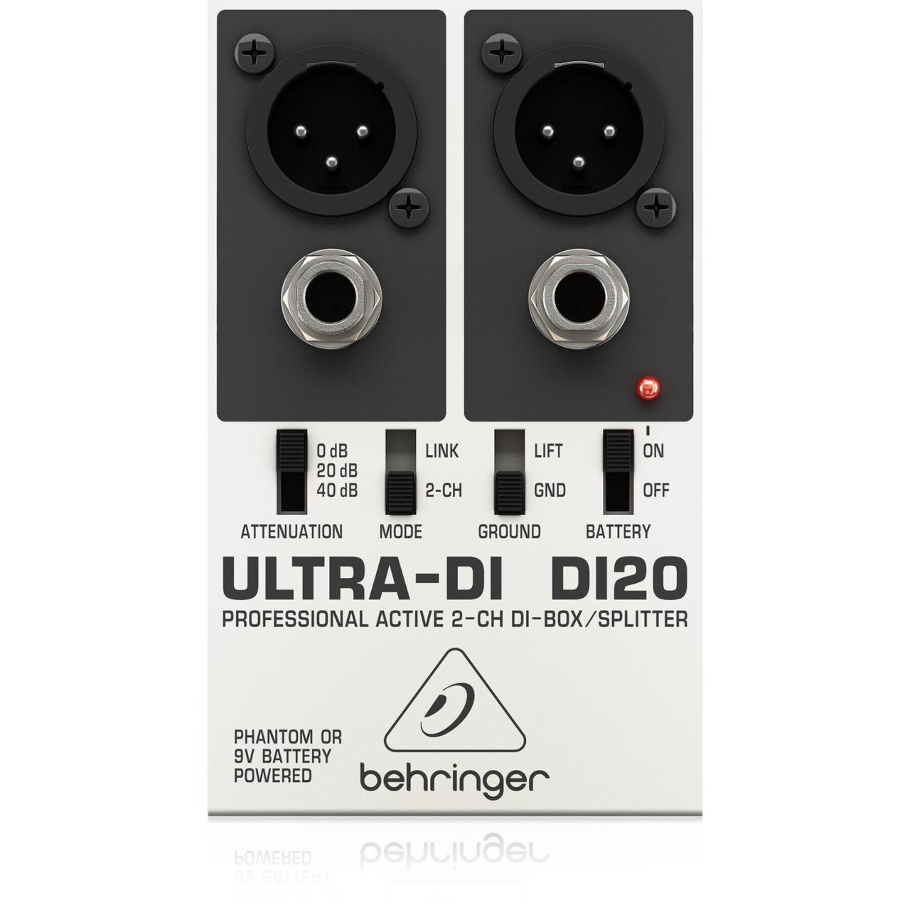 Дірект-бокс Behringer Ultra-DI DI20