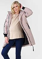 Куртка зимн.  I Love Mum 3в1 Копенгаген для беременных и слингоношения; цвет: кремовый 44