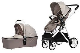 Коляска детская 2в1 Mi baby Miqilong T900 Бежевый (T900-U2BG01)