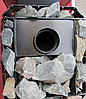 """Печь-камин для бани """"Пруток"""" 12 м3 Новаслав с выносом, стеклом, фото 4"""