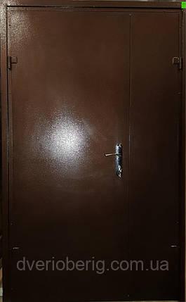 Стальная дверь двухстворчатая., фото 2