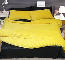 Двуспальный комплект постельного белья зима/лето Yellow