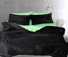 Двуспальный комплект постельного белья зима/лето Black