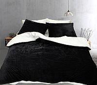 Двуспальный комплект постельного белья зима/лето Black&white, фото 1