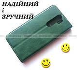 Противоударный чехол книжка Xiaomi Redmi Note 8 Pro Green K'try зеленый, фото 2