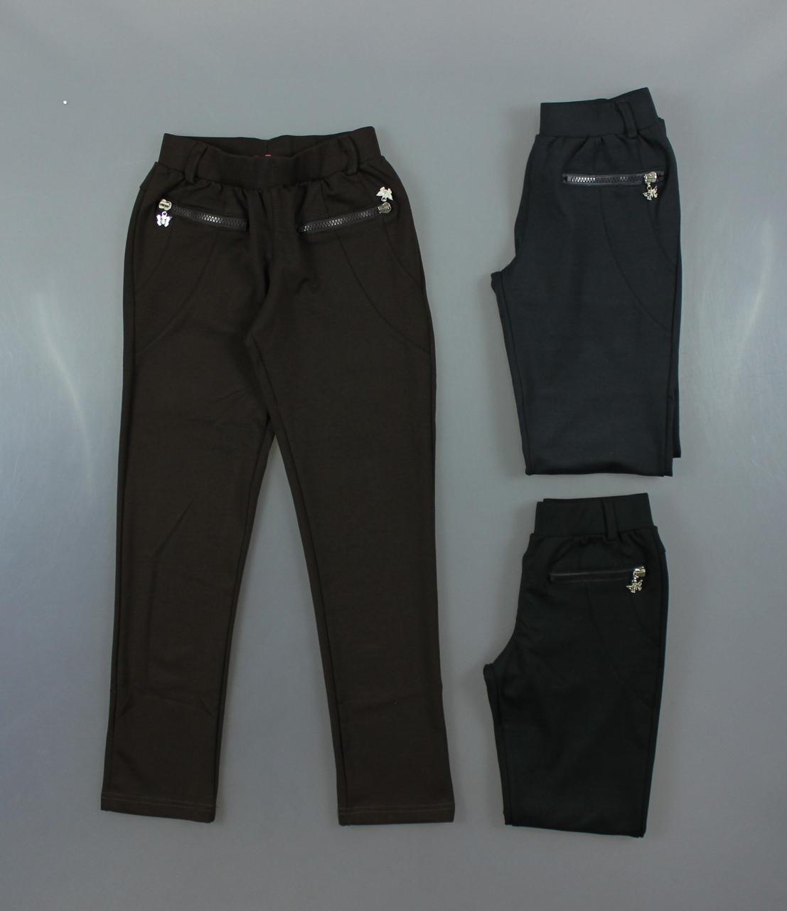 {есть:116,146} Трикотажные брюки для девочек S&D, 116-146 рр. Артикул: CH2200 [116]