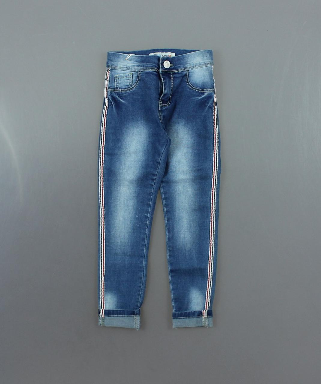 {есть:110,122} Джинсовые брюки для девочек F&D,104-134 рр. [110]