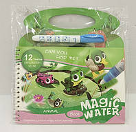 Раскраска BH3-06 (100шт) раскраска водой, маркер, в пленке 17*20см