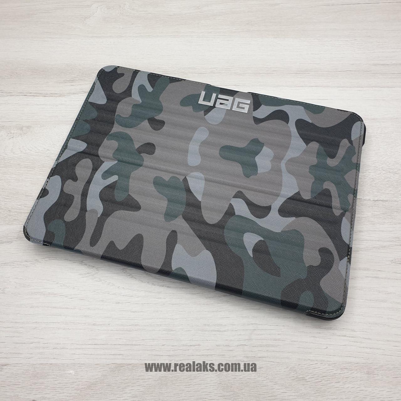 Чехол противоударный UAG для iPad new 10.2 green/black