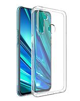 Чехол силиконовый для Realme 5 PRO ультратонкий прозрачный (реалми 5 про)