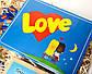 """Набор женский  """"Love is"""" - печенье с предсказаниями, набор шоколада, консервированные носочки, жвачки, фото 8"""