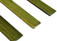 Бамбуковый плинтус зеленый