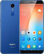 Смартфон с металлическим корпусом и большим дисплеем на 2 сим карты Gome U7 blue 4/64Gb