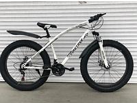 Спортивный велосипед Top Rider 215 Фэтбайк колеса 26 дюймов рама сталь белый