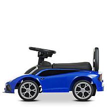 Детский толока Lamborghini (реплика) Синяя, фото 2