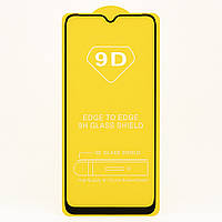 Защитное стекло TDG 9D для Xiaomi Redmi 9 Full Glue черный 0,26 мм в упаковке