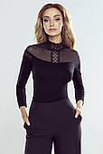 Блузка Alicja Eldar черная. Коллекция осень-зима 2020-2021