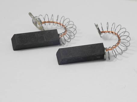Щетки электродвигателя 6*12,5*31 мм. шнур посредине двухслойные (комплект 2 шт.), фото 2