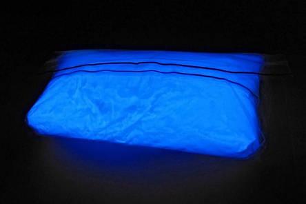 СИНІЙ в темряві і на світлі СВІТИТЬСЯ порошок люминесцент ТМ Просто і Легко 1000 г, фото 2