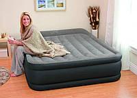 Надувная кровать односпальная с встроенным насосом 191*99*42см,Intex 64132