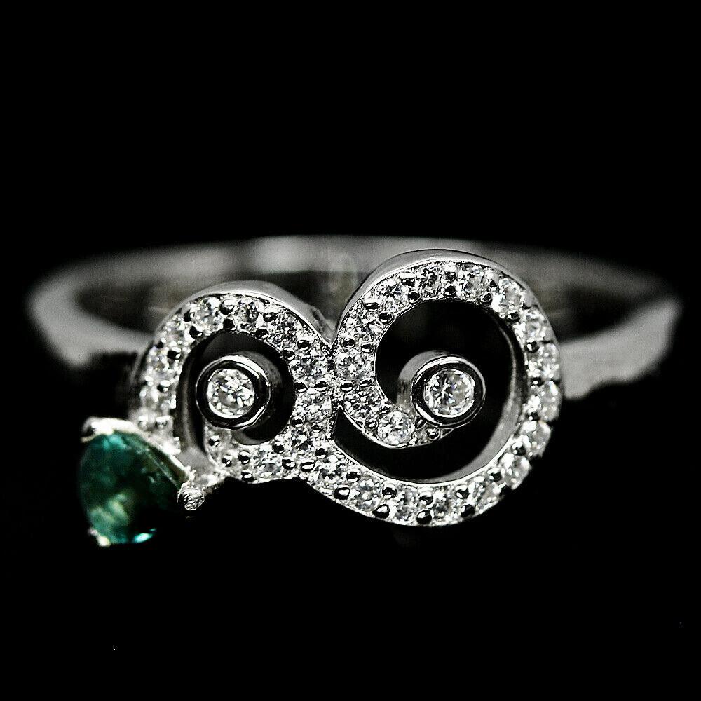 Серебряное кольцо с сапфиром, 1452КС