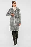 Пальто прямого силуэта женское П-399-100