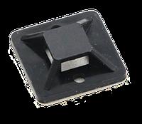 Площадка самоклеющаяся для кабельной стяжки TM 20, черная