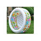 """Дитячий надувний басейн Intex,152*56см""""Акваріум"""" Басейн Интекс з надувним дном для дітей, для малюків 58480, фото 10"""