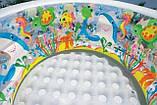 """Дитячий надувний басейн Intex,152*56см""""Акваріум"""" Басейн Интекс з надувним дном для дітей, для малюків 58480, фото 5"""