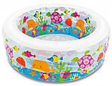 """Дитячий надувний басейн Intex,152*56см""""Акваріум"""" Басейн Интекс з надувним дном для дітей, для малюків 58480, фото 4"""
