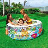 """Дитячий надувний басейн Intex,152*56см""""Акваріум"""" Басейн Интекс з надувним дном для дітей, для малюків 58480, фото 8"""