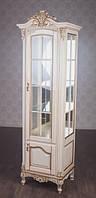 Деревянная однодверная витрина Версаль., фото 1