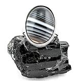 Оникс, 20*15 мм., серебро 925, кольцо, 160КО, фото 2