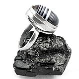 Оникс, 20*15 мм., серебро 925, кольцо, 160КО, фото 3