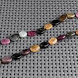 Турмалин разноцветный, бусы, 411БСТ, фото 3